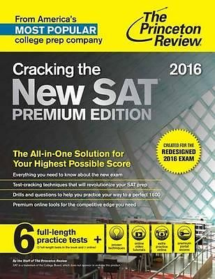 cracking the new sat premium 2016 exam the priceton review