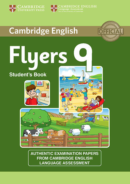 Cambridge English Flyers 9 Student book + CD mp3