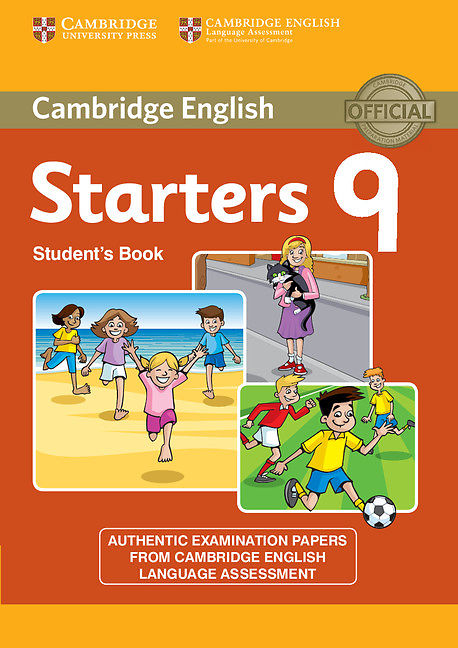 Cambridge Starter 9 Student book + Audio CD mp3