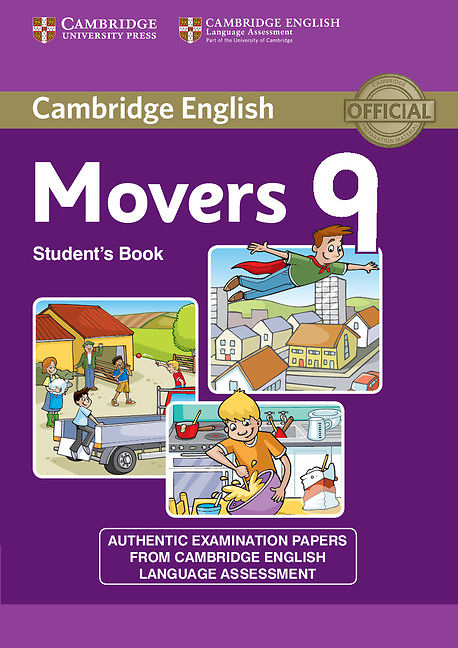 Cambridge English Movers 9 Student book + CD Mp3
