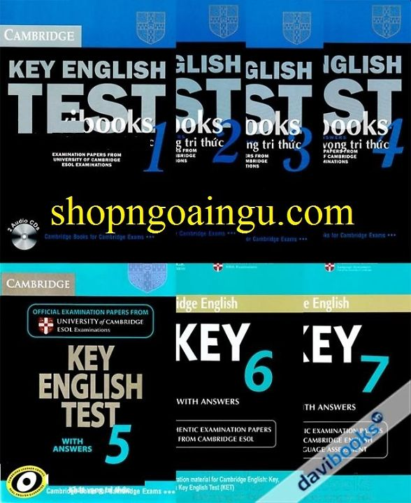 Cambridge Key english test  ( KET ) 1 – 7