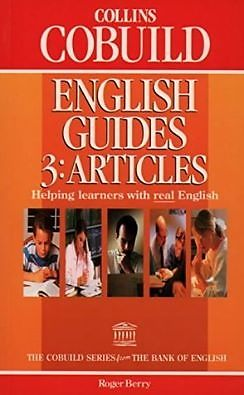 Collins Cobuild English Guides 3- Articles