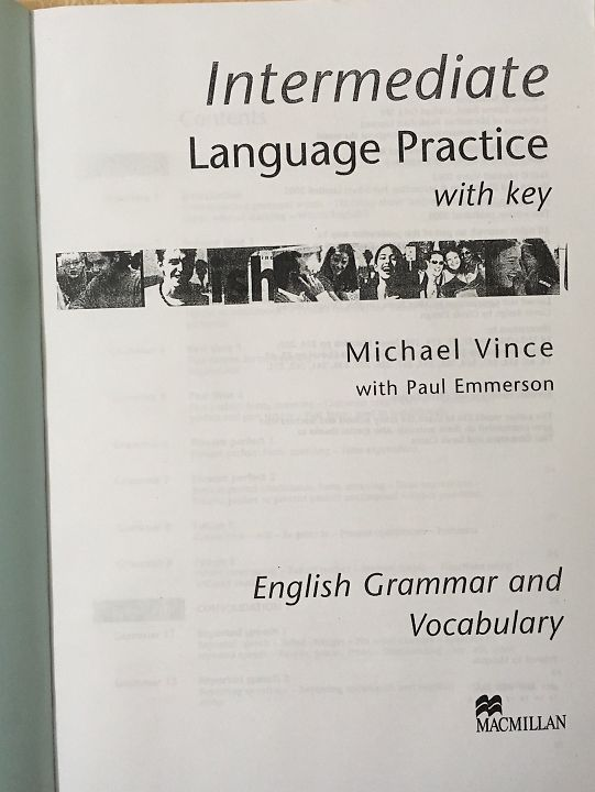 intermediate language practice  with key : English grammar adn vocabulary Michael Vince with Paul Emmerson