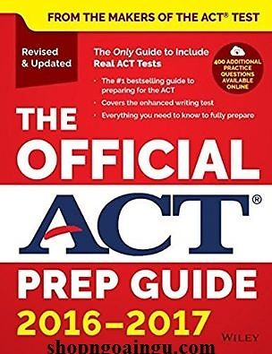 The Official ACT Prep Guide, 2016 – 2017 wiley